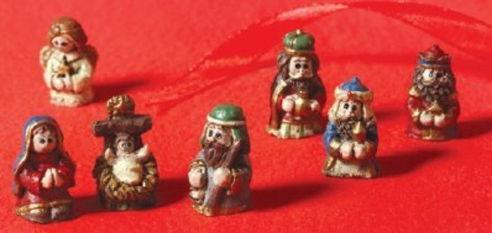 7-Piece Mini-Nativity Set