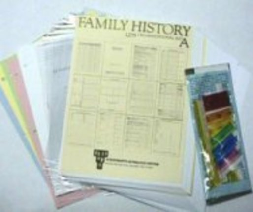 Family History LDS Kit A