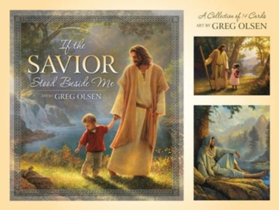 If the Savior Stood Beside Me Picture Set
