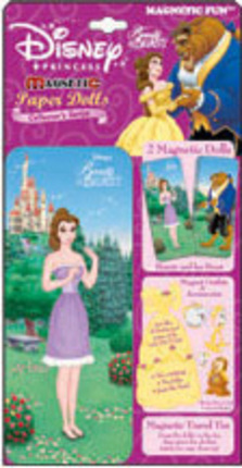 Beauty and the Beast Magnetic Paper Doll