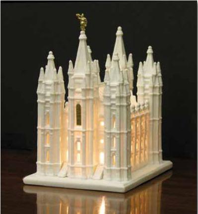 Sl temple lighted