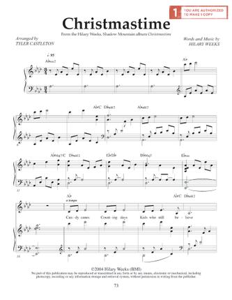 Christmastime (Sheet Music Download) - Deseret Book