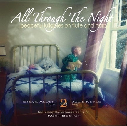 All Through the Night: Peaceful Lullabies on Flute and Harp