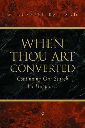 When thou art convertedsm
