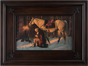 Prayer at Valley Forge, Exclusive Star Frame Edition (15x20 Framed Print)