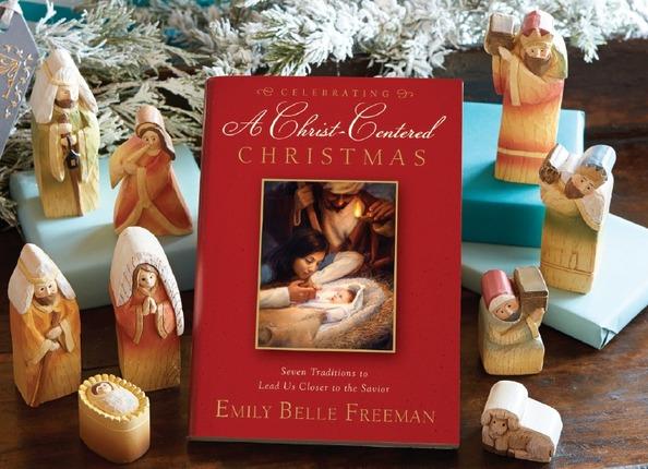Celebrating christ centered nativity set