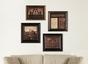 Historical Art Collection (4 Piece Framed Set)