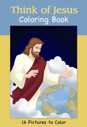 Think of jesus coloring book