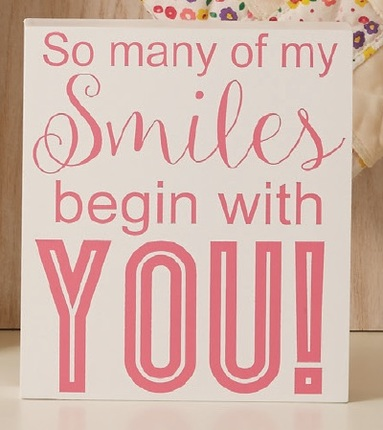 So many smiles plaque