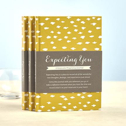 expecting you journal a keepsake pregnancy journal deseret book