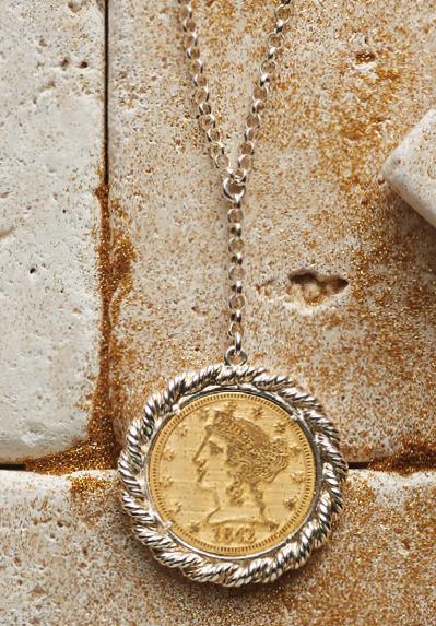 Emmas coin necklace