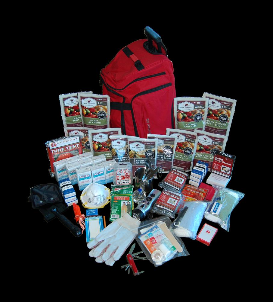 Deluxe survival kit