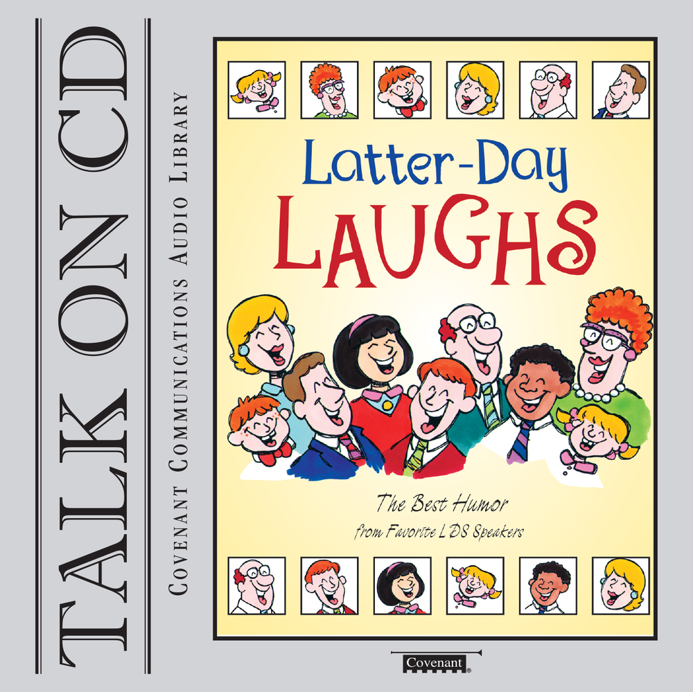 Latter day laughs cover