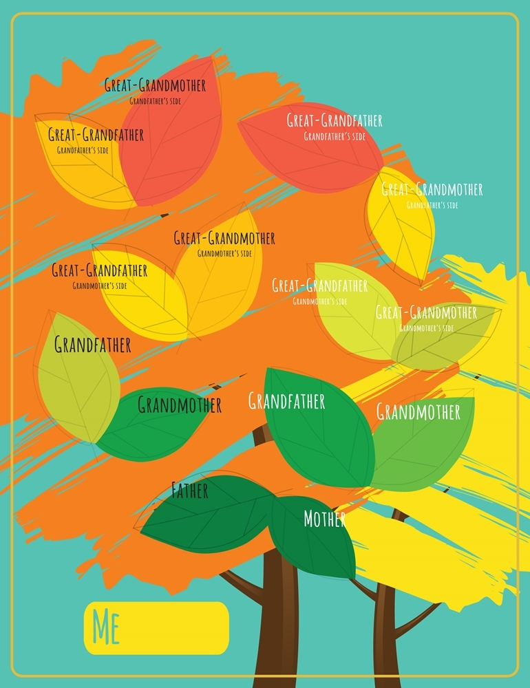 Fall Colors Family History Tree Chart Deseret Book