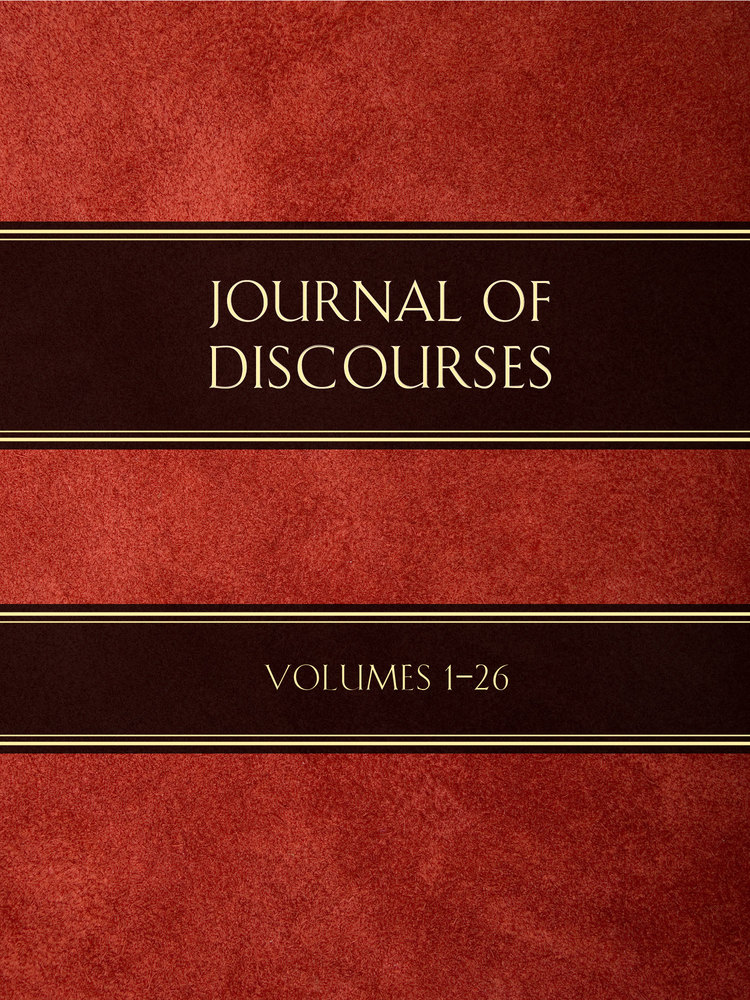 Journal Of Discourses Volumes 1 26