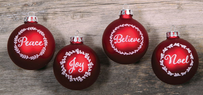 sentiments of christmas ornaments by zions mercantile gifts