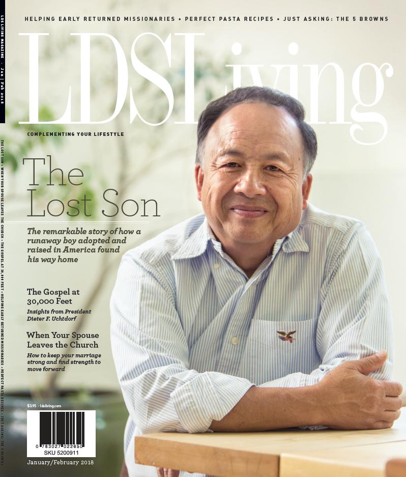 LDS Living Magazine: January/February 2018