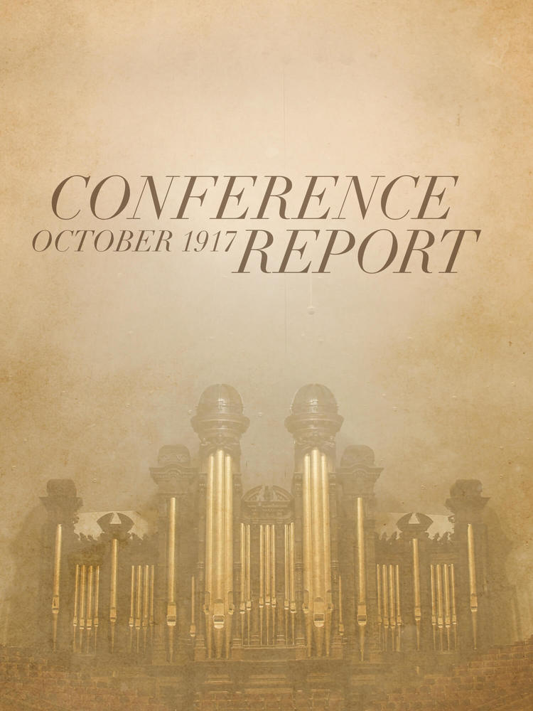 Conference Report October 1917