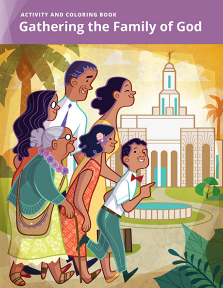 God Coloring Book By LDS Distribution Center