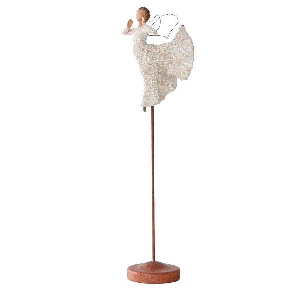 Song of joy figurine on stand root 26463 1470 1