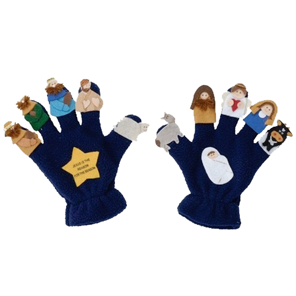 Nativity Puppet Glove Set