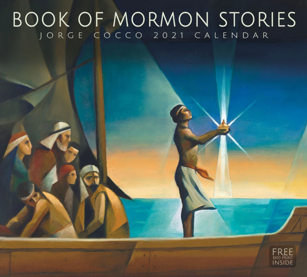2021 Book of Mormon Stories Calendar by Jorge Cocco Santangelo